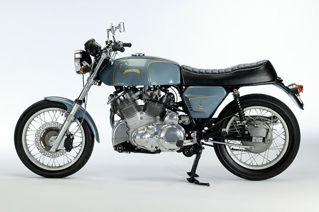 """The Vincati is one of those semi-mythical bikes that you occasionally hear about. Here's the most famous of them all: """"Big Sid's Vincati."""""""