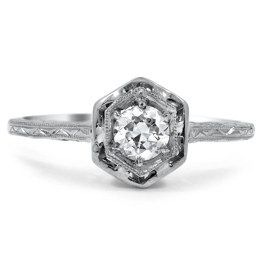 18K White Gold The Brygida Ring from Brilliant Earth