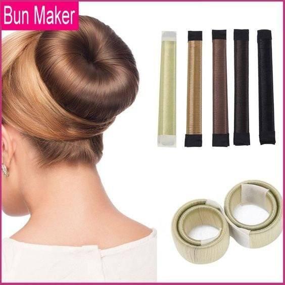 """Résultat de recherche d'images pour """"bun maker chignon"""""""