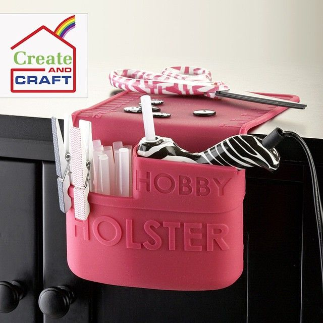 Check out the Hobby Holster on #CreateAndCraftTV today at 4pm, 6pm and 9pm EST at www.createandcraft.tv! #HobbyHolster #HolsterBrands