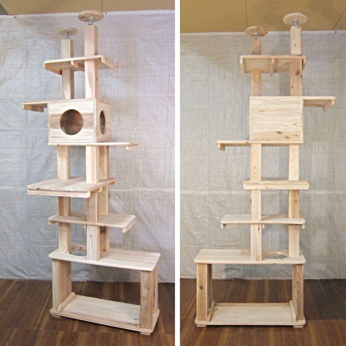 キャット タワー 木製