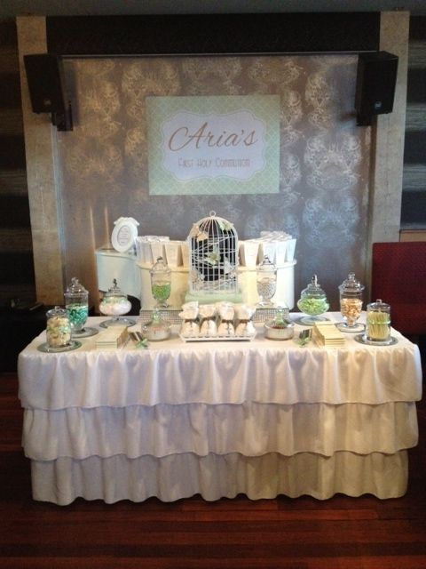 Holy Communion Candy Buffet By Leanne S Sweet Themed