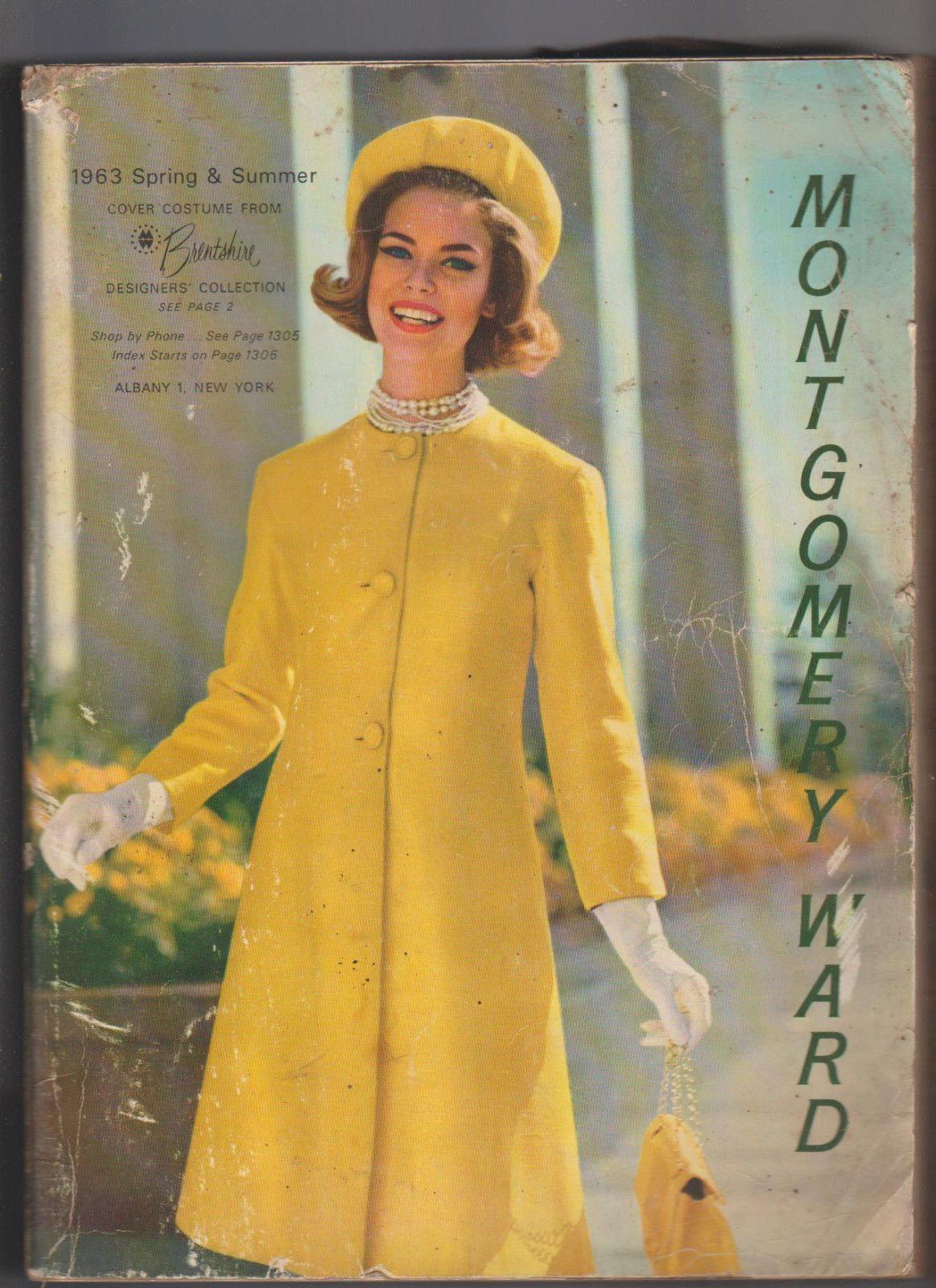 Montgomery ward catalog spring u summer clothing fashion ebay