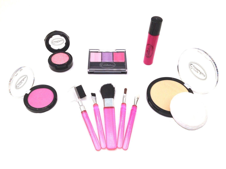 Amazon Com Little Cosmetics Essential Pretend Makeup Set Toys