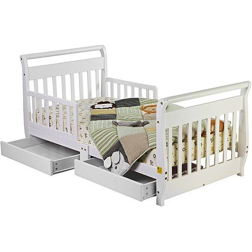 Baby Toddler Bed With Storage Toddler Bed White Toddler Bed