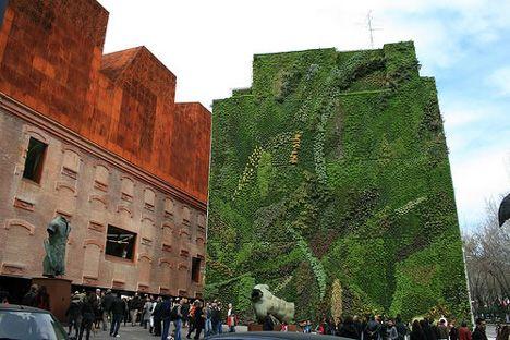 CaixaForum Living Wall, Madrid, Spain