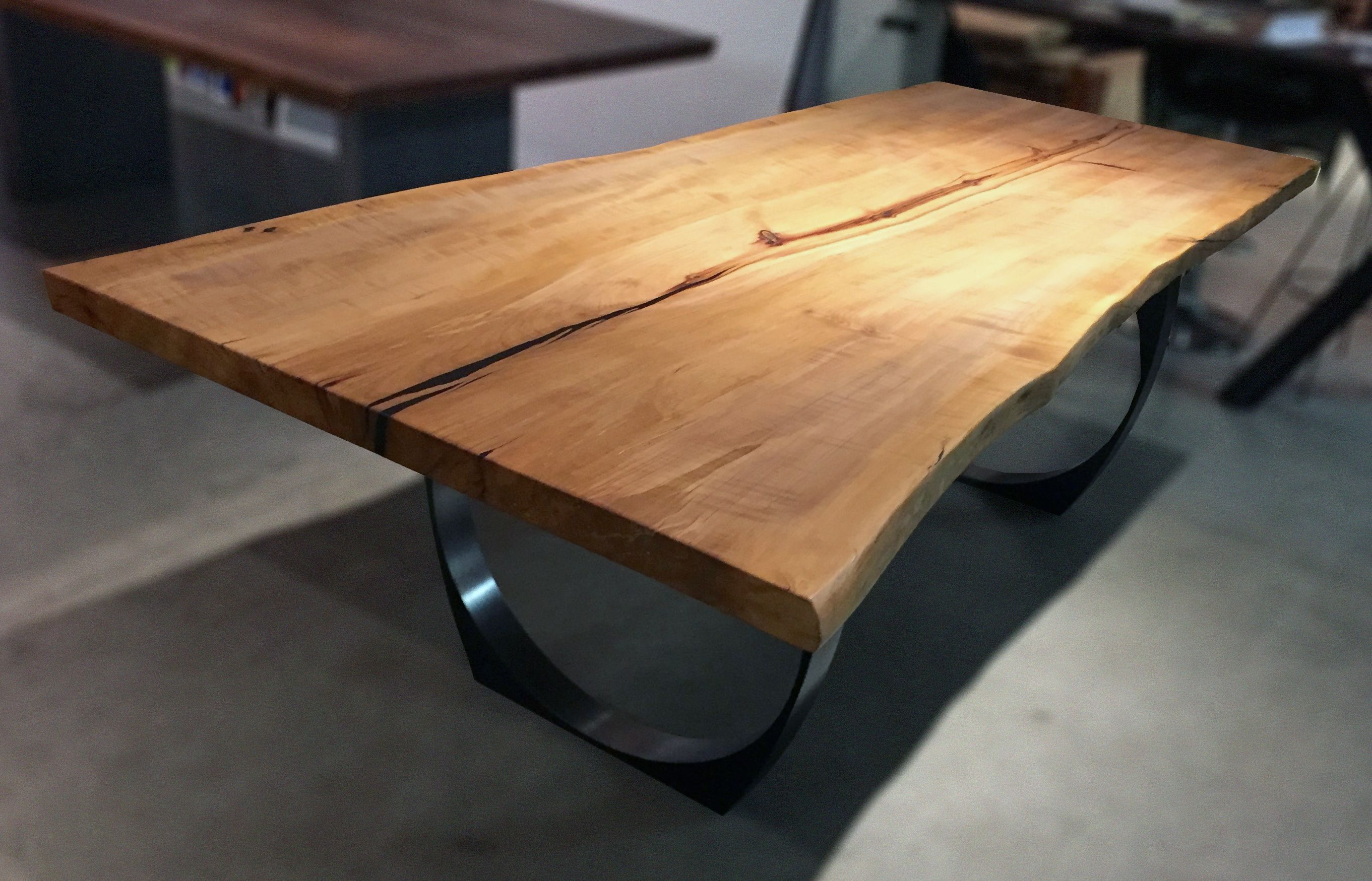 One Of A Kind Arbutus Single Slab Table Top Very Old Tree