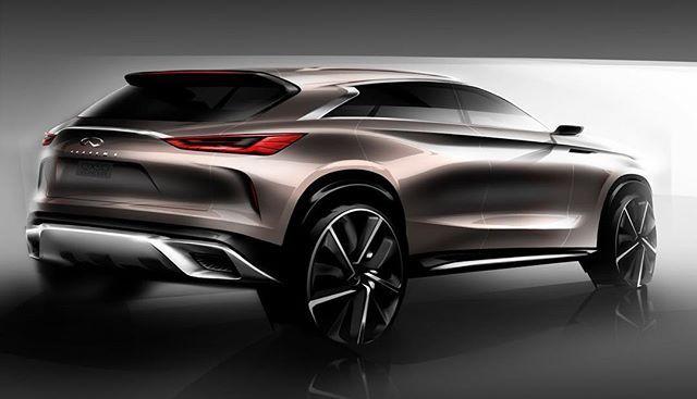 Infiniti Qx50 Concept Official Sketch Cardesign Car Design Carsketch Sketch Drawing Infiniti Coches Chulos Automovil Conceptual Diseno Automotriz