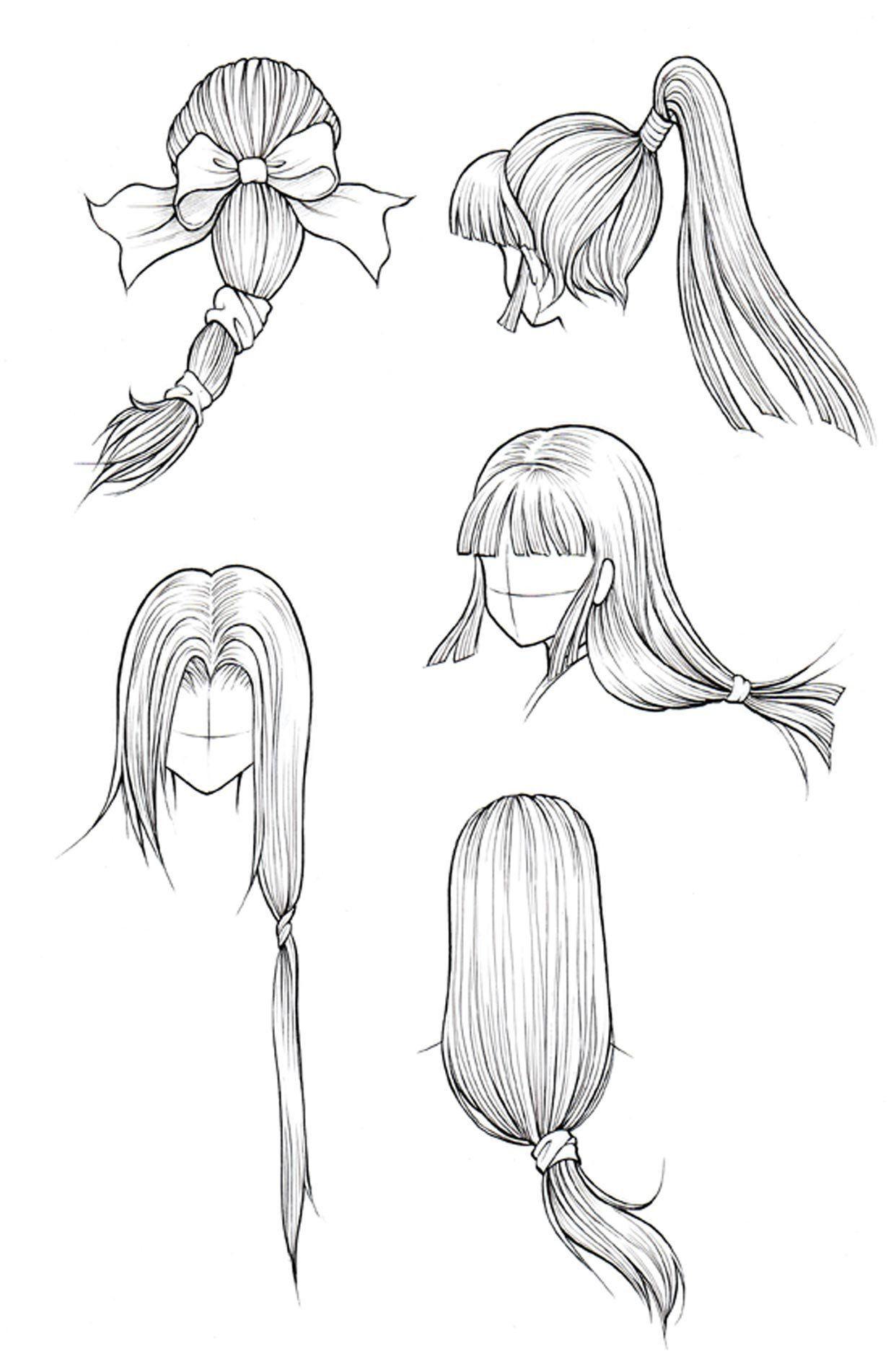 Kanji de Manga Vol 3 cover image Dessin de cheveux