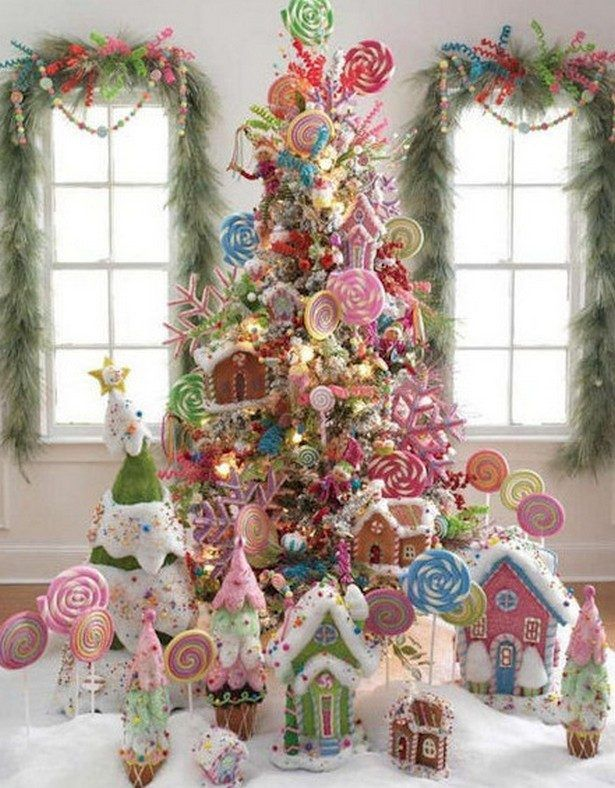 candy themed christmas decorations - Candy Themed Christmas Decorations