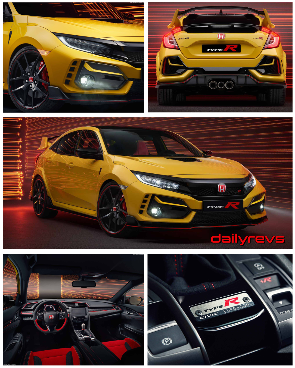 2021 Honda Civic Type R Limited Edition Hd Pictures Videos Specs Information Dailyrevs Honda Civic Type R Honda Civic Honda Civic Vtec