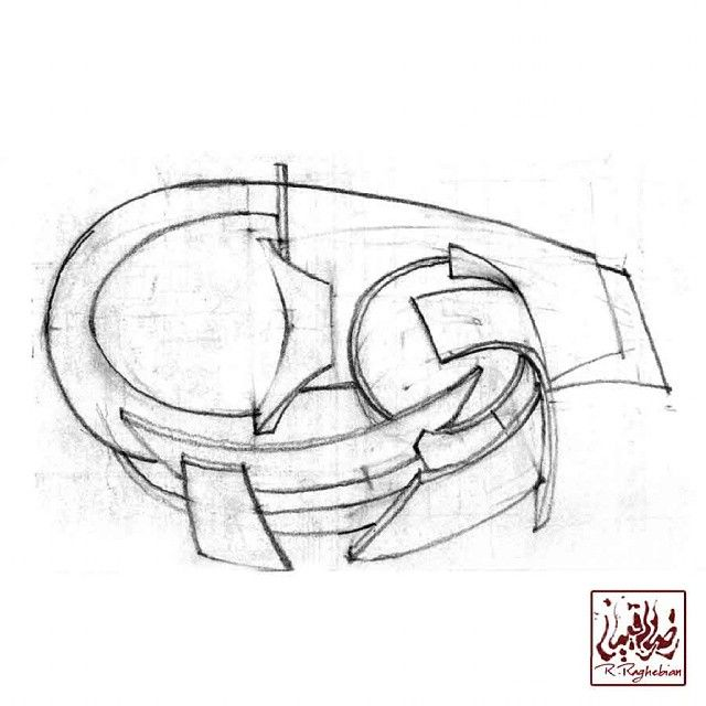Drawing Pencil Architecture Consept Sketch Plan