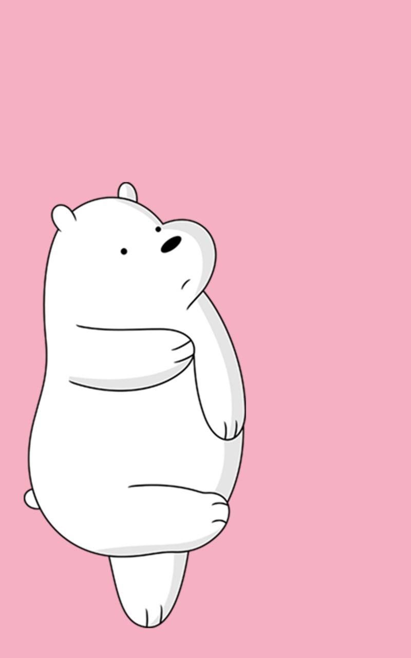 Polar Bear  Ice Bear  We Bare Bears  lockscreen  Pinterest  Bare bears, Polar bear and Bears