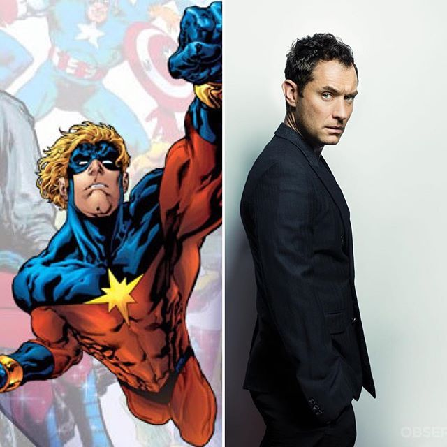 Reposting At Dirtees Jude Law Is In Talks To Join The Cast Of Captain