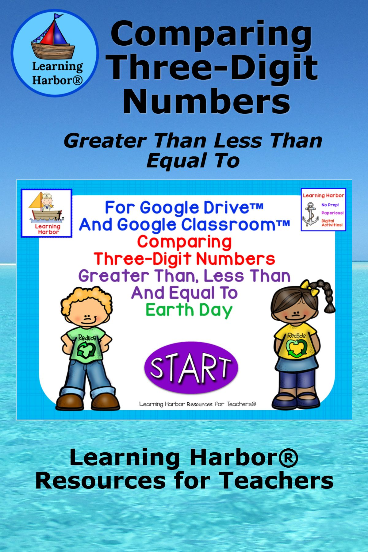 Comparing 3 Digit Numbers Greater Than Less Than Equal