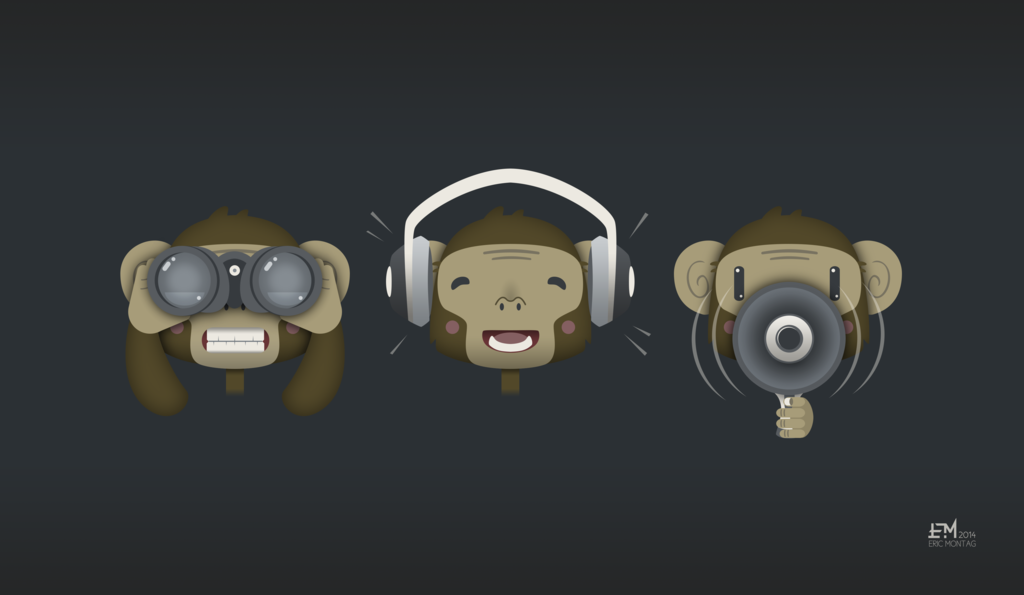 b68b1419e Three Wise Monkeys by Cliffjumper78.deviantart.com on @deviantART ...