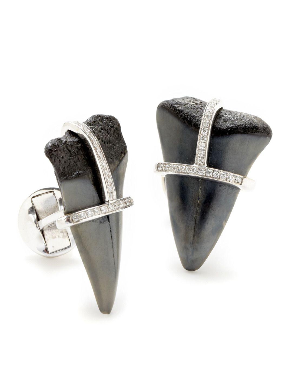 Shark Teeth Cufflinks