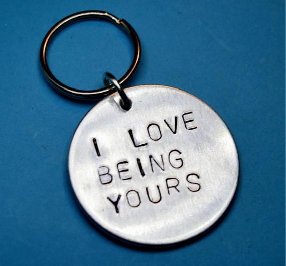 I love being yours - Christmas gift for boyfriend - Engraved