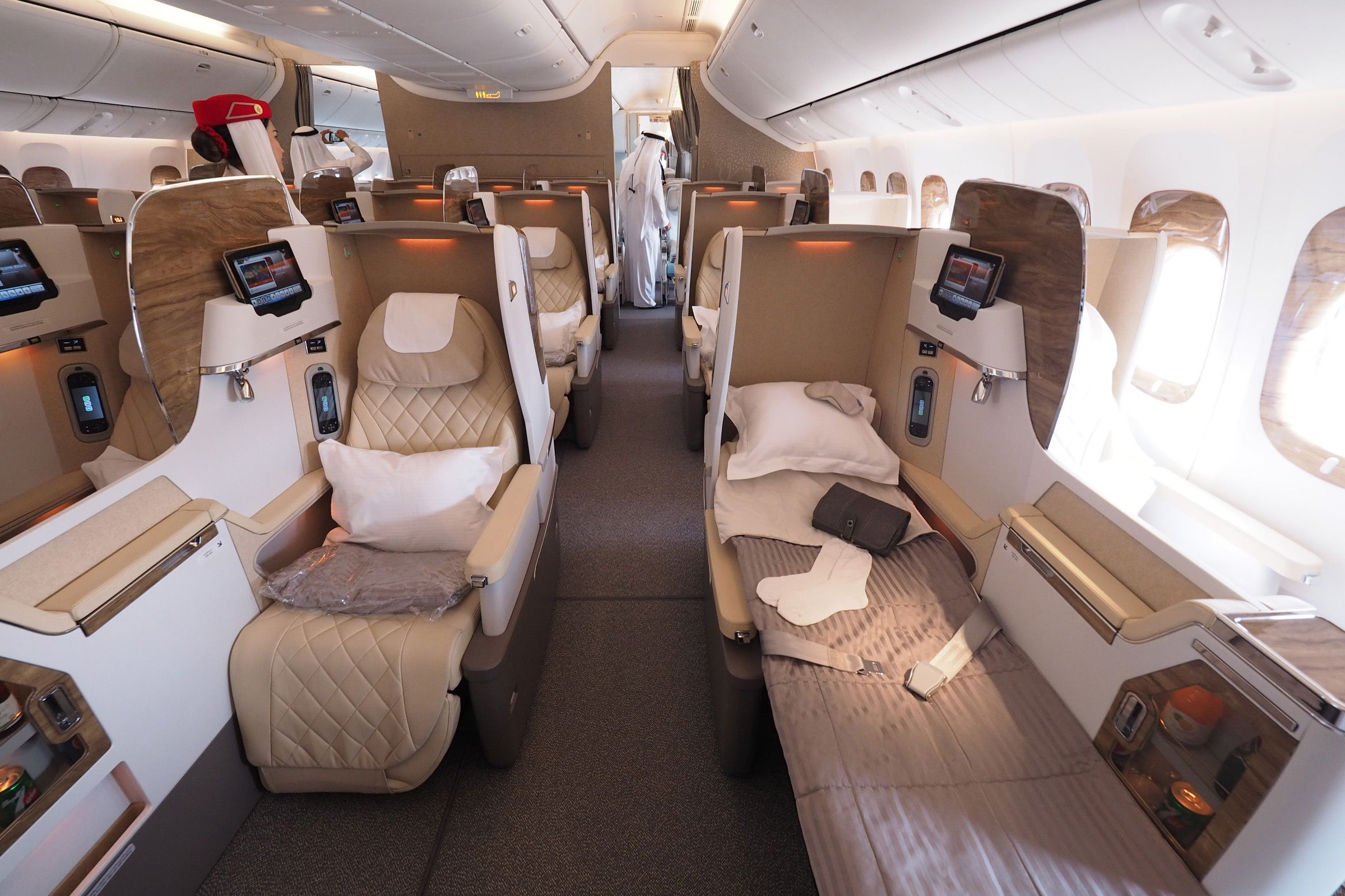 Business Class Emirates I Ve Got My Seat Ready And The Plane