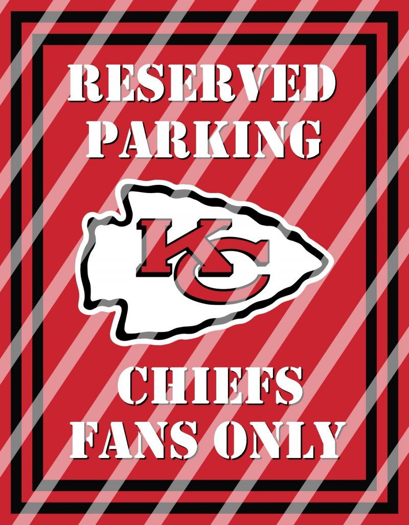 Kansas City Chiefs Parking Wall Decor Sign #5 (instant downloadprintframed  sc 1 st  Pinterest & Kansas City Chiefs Parking Wall Decor Sign #5 (instant download ...