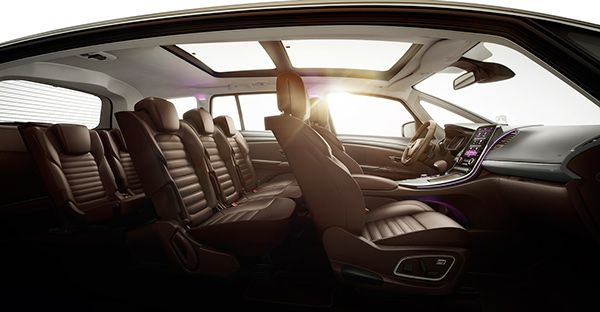 Renault Espace Initiale Full Cgi By Small Dots Renault Automotive Interior Car Interior