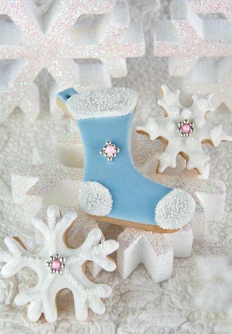 Christmas Ornament Cookies, Tartas Cakes Haute Couture