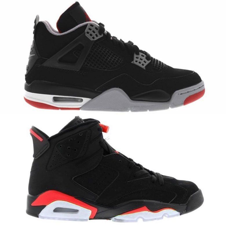 finest selection 6edb6 a88d0 Nike Air Returning To The A Jordan 4 Bred And Air Jordan 6 Infrared