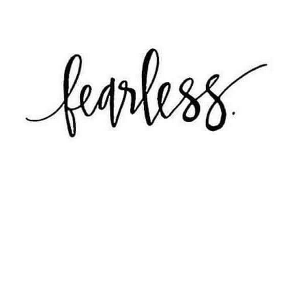 Pin By Memory Eltjes On Random Fearless Tattoo Word Tattoos Tattoos Black white calligraphy fearless iphone