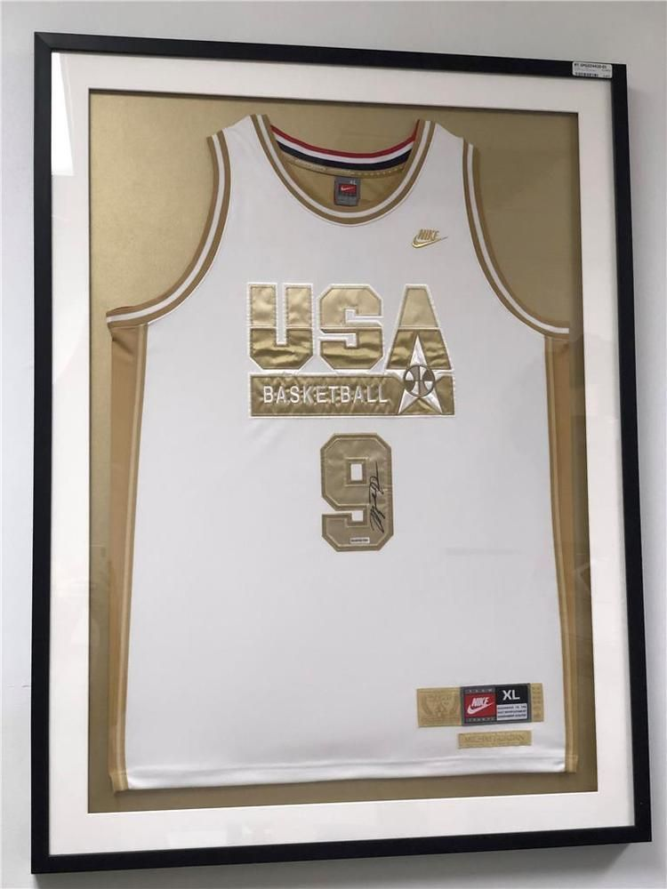Michael Jordan Autographed 1992 Signed Gold Olympic Dream Team ...
