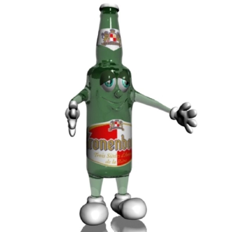 Beer Bottle Cartoon Character Beer Bottle Cartoon Characters Bottle