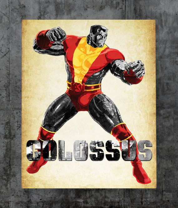 Colossus Metal Plate