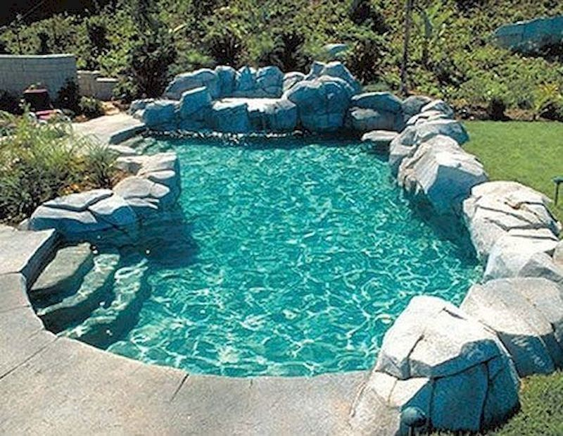 78 Cozy Swimming Pool Garden Design Ideas On A Budget Decorhit Com Swimming Pools Backyard Diy Swimming Pool Backyard Pool