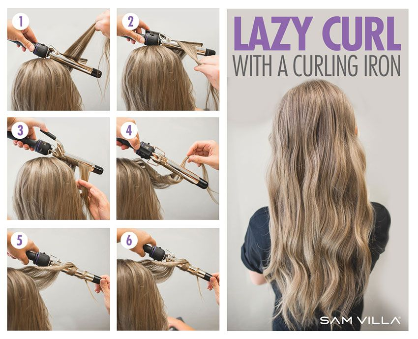 Curling Iron Curl Sizes Hair Styles Long Hair Styles Curly Hair Styles