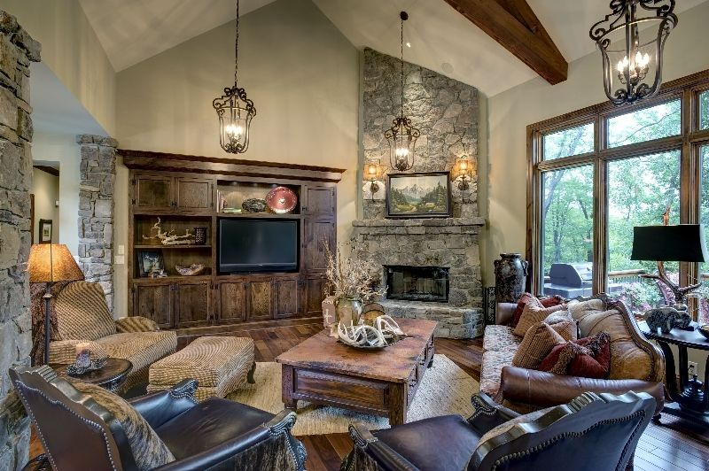 French Country Family Rooms Room