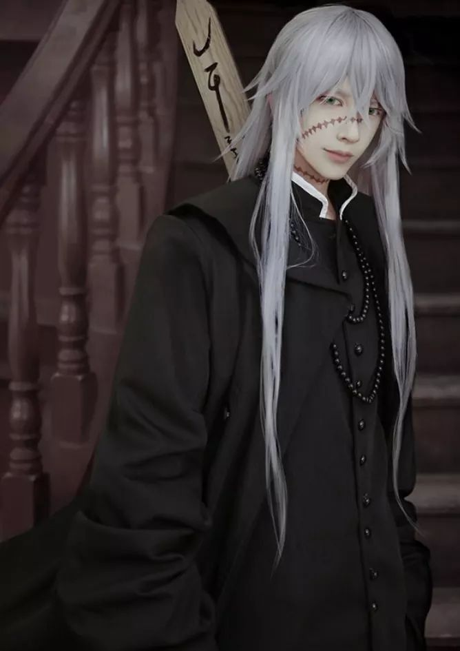 Undertaker Epic Cosplay Awesome Anime Black Butler Kuroshitsuji Outfit Costume Ideas Twitter Shinigami