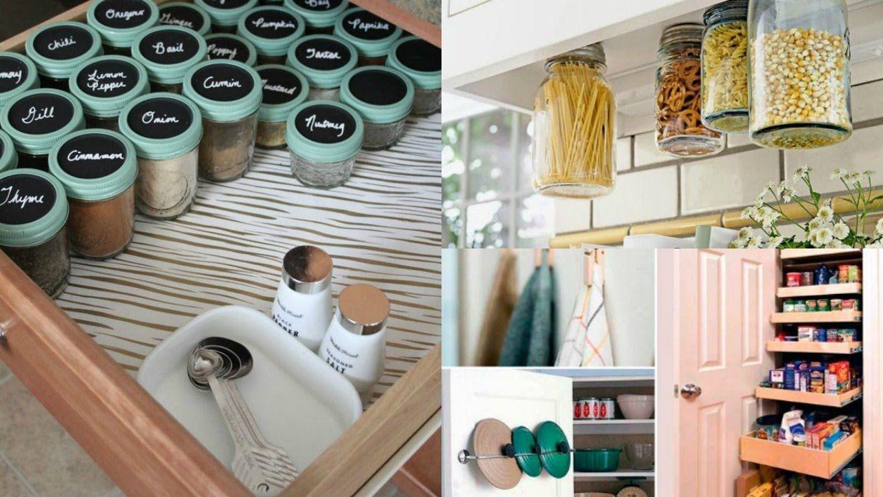 Ideas para organizar una cocina peque a diy kitchen for Accesorios para cocinas pequenas
