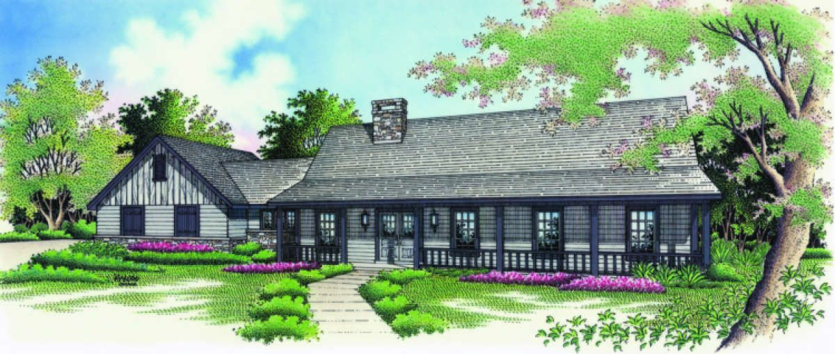Country House Plan 048