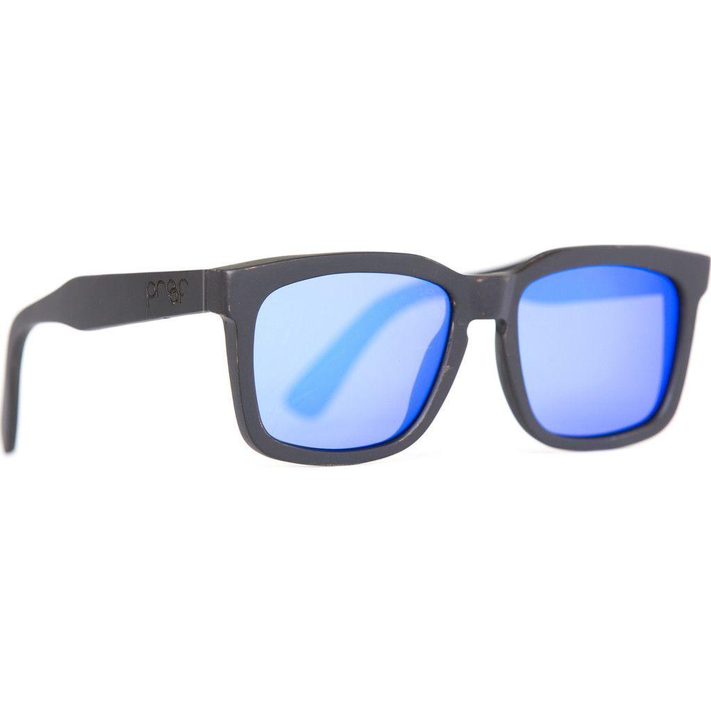 Proof Federal Wood Sunglasses | Black Maple/Sky Polarized