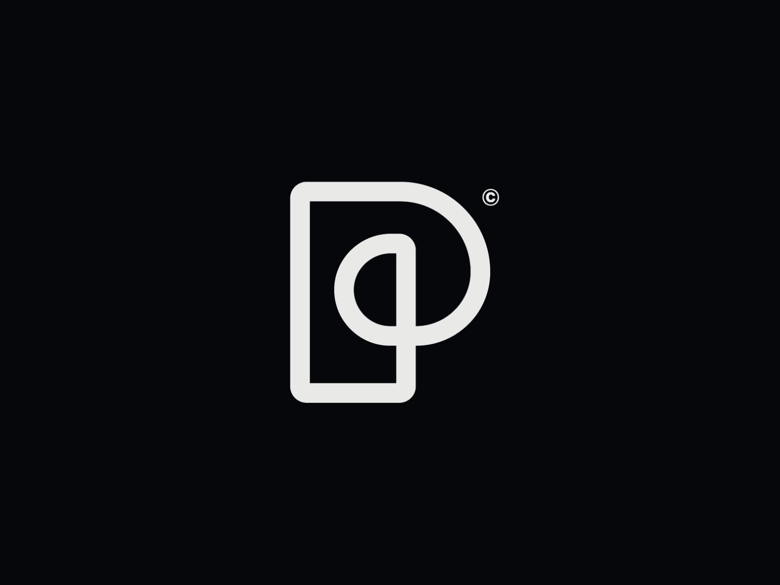 Ww016 Letter P Logo P Logo Design Lettering Logo Design