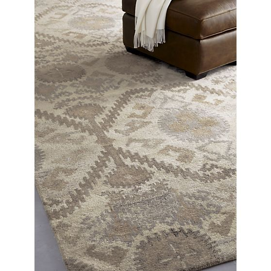 Orissa 8x10 Rug In All Rugs Crate And Barrel Apartment Rugs Rugs In Living Room Rugs
