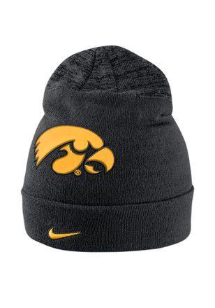 Nike Iowa Hawkeyes Green Vapor Sideline Coaches Knit Hat 7a535c02e483