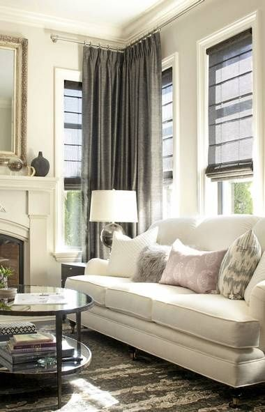Curtains Ideas curtains for a gray room : 1000+ images about Grey and Oatmeal on Pinterest | Modern ...