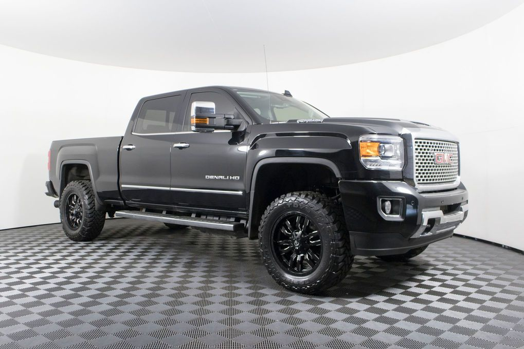 Used Lifted 2017 Gmc Sierra 3500 Denali 4x4 With 14 990 At