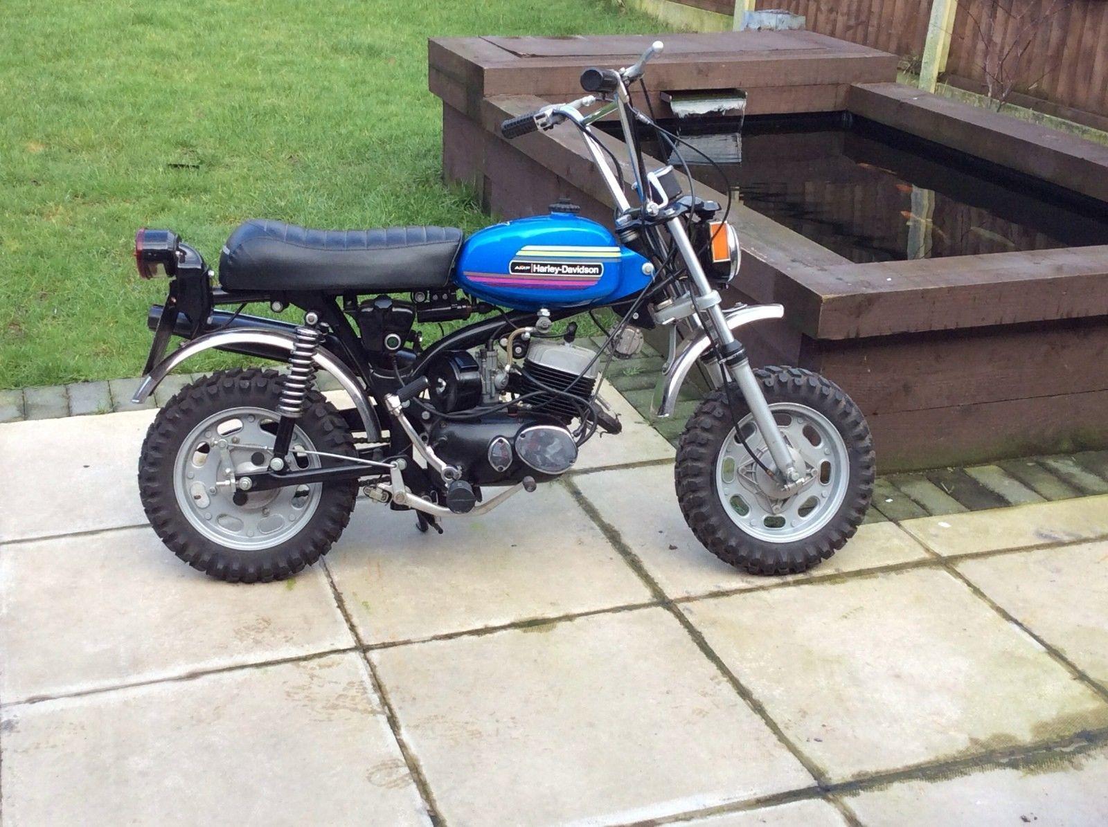 Ebay 1974 Harley Davidson X90 Amf Monkey Bike Stunning Bike Road Reg Low Miles Harleydavidson Ukdeals Rssdata Net