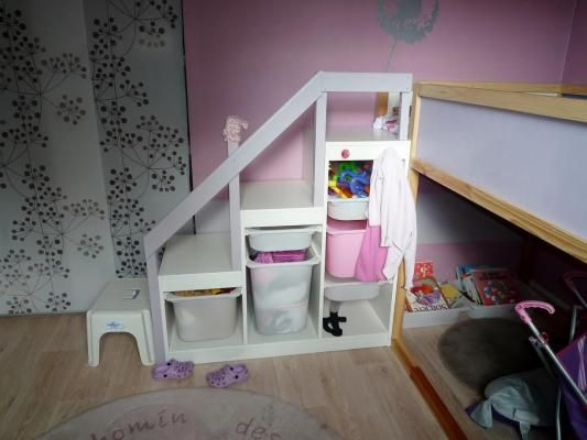 Stairs For Ikea Bunk Beds Muebles Para Espacios Reducidos Bunk