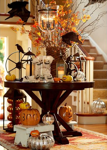Pottery Barn Halloween Entryway Pottery Barn Halloween