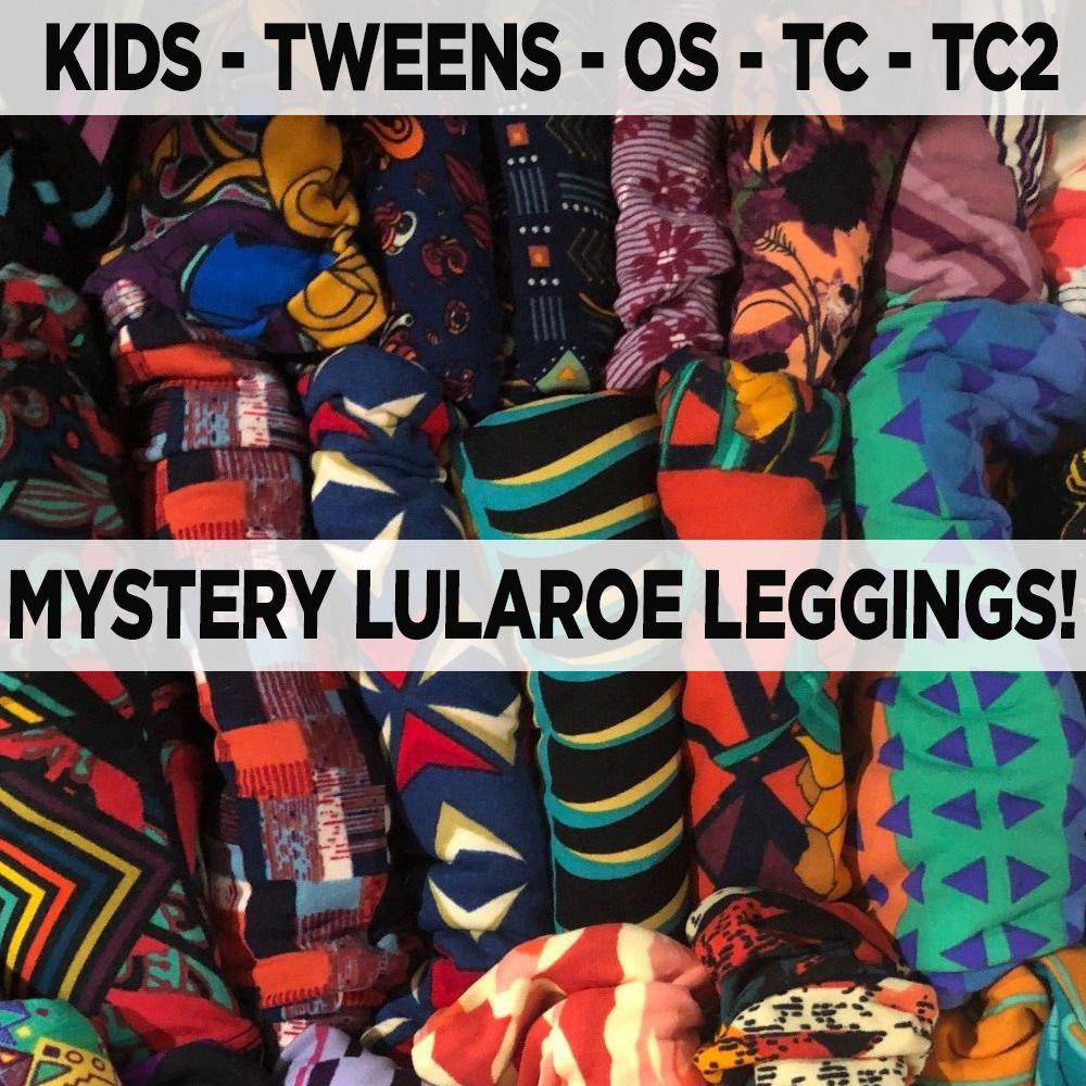 1941e9378d917 New LuLaRoe MYSTERY Leggings OS TC TC2 S/M L/XL Tween One Size Tall ...