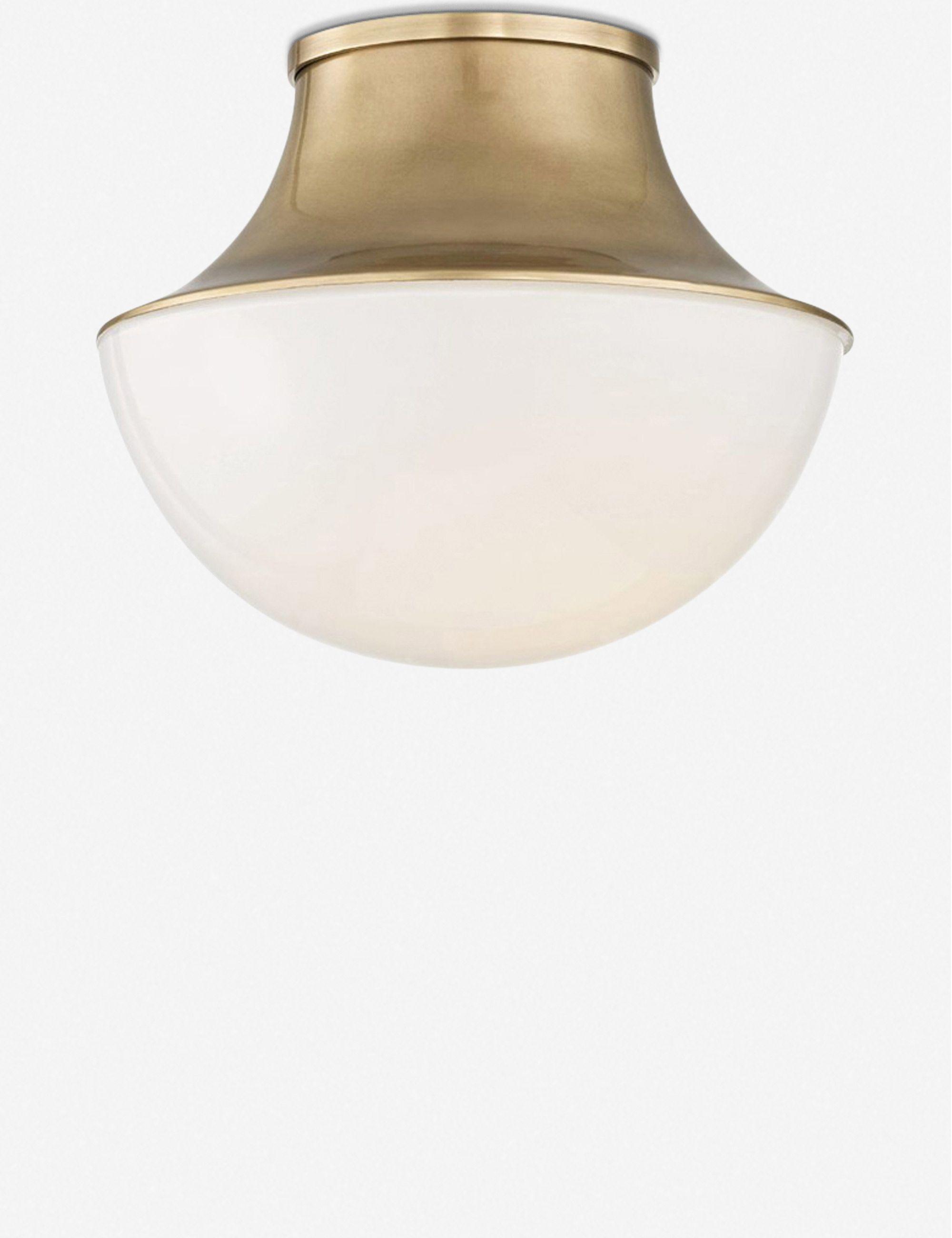 Randi Flush Mount Light Brass Flush Mount Lighting Traditional Chandelier Light