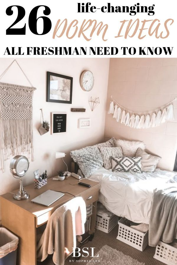 26 Best Dorm Room Ideas That Will Transform Your Room