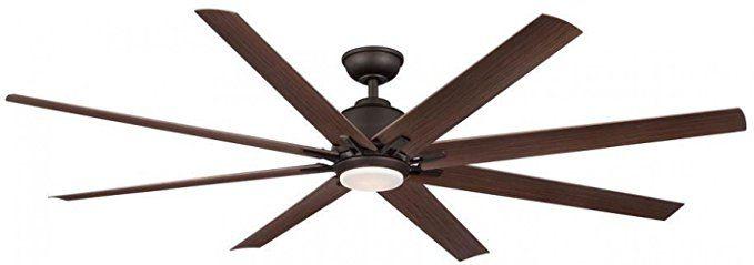 Kensgrove 72 In Led Indoor Outdoor Espresso Bronze Ceiling Fan